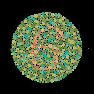 Τεστ Ισιχάρα - Αχρωματοψία