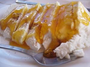 Φέτα με μέλι